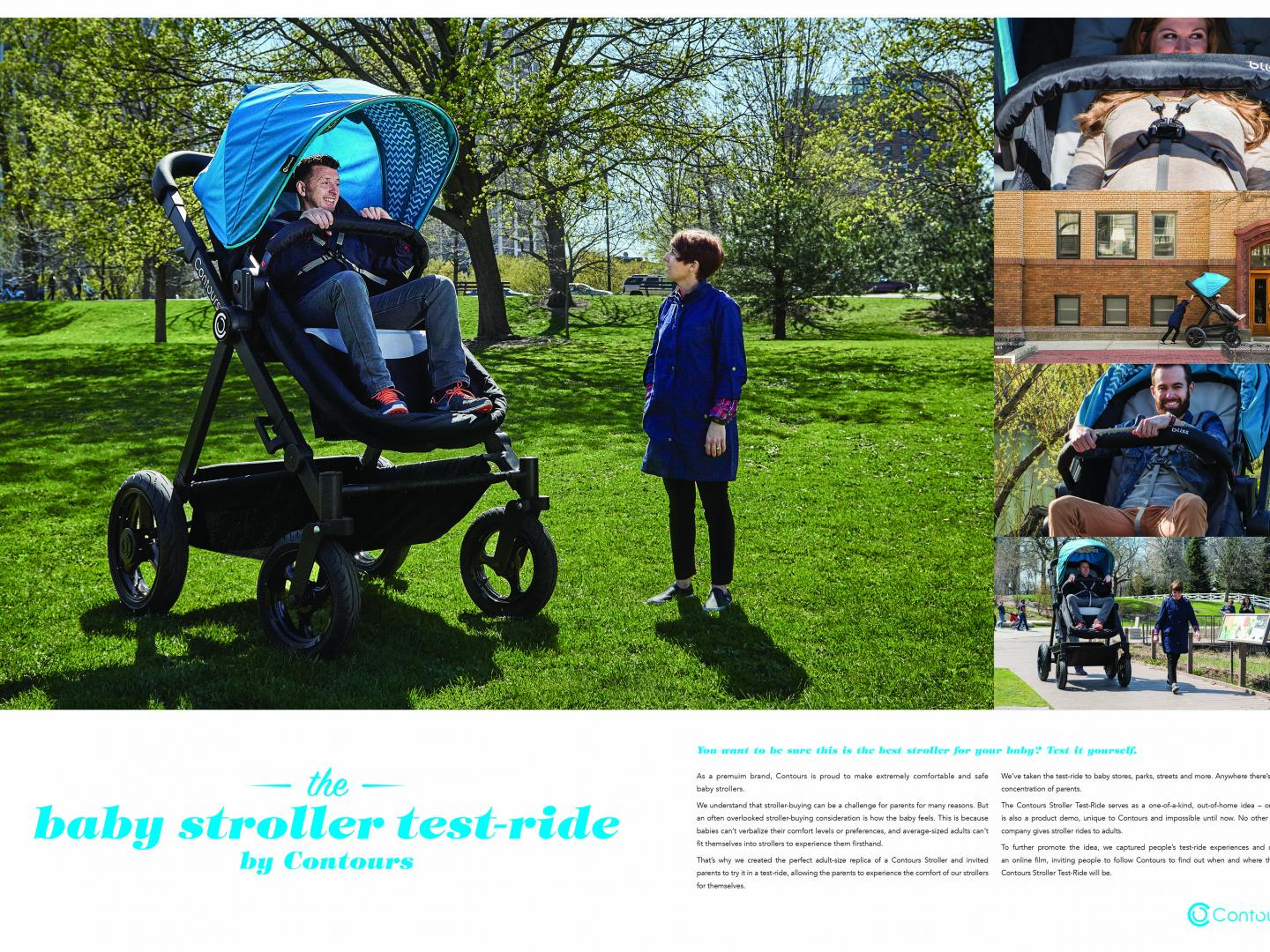 The Baby Stroller Test-Ride by Contours Strollers Thumbnail