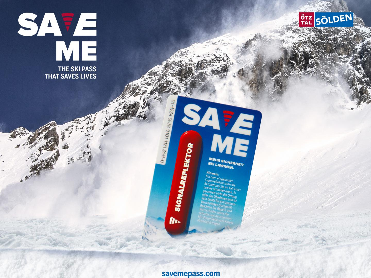 Save me – the ski pass that saves lives Thumbnail