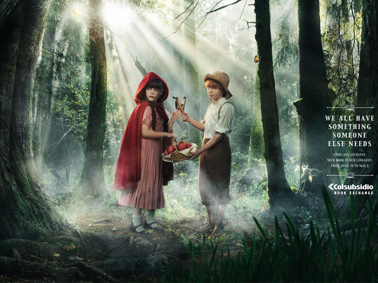 Exchanges - the little red riding hood/Tom Sawyer Thumbnail