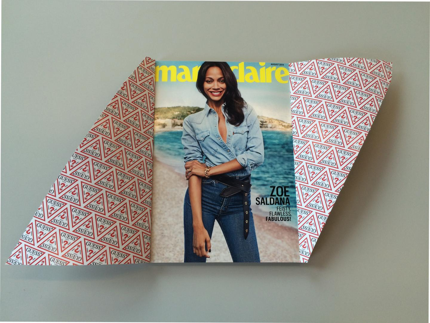 Marie Claire's August 2014 Zipper Cover Thumbnail