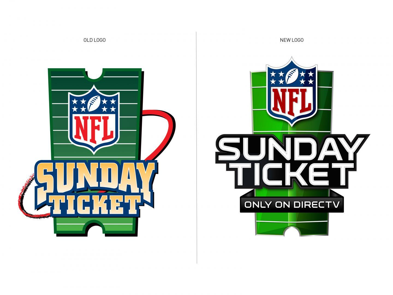 NFL Sunday Ticket on DIRECTV Logo Redesign Thumbnail