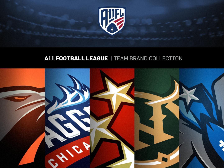 A11 Football League Team Brand Collection Thumbnail