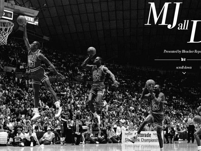 Bleacher Report MJ All Day Thumbnail