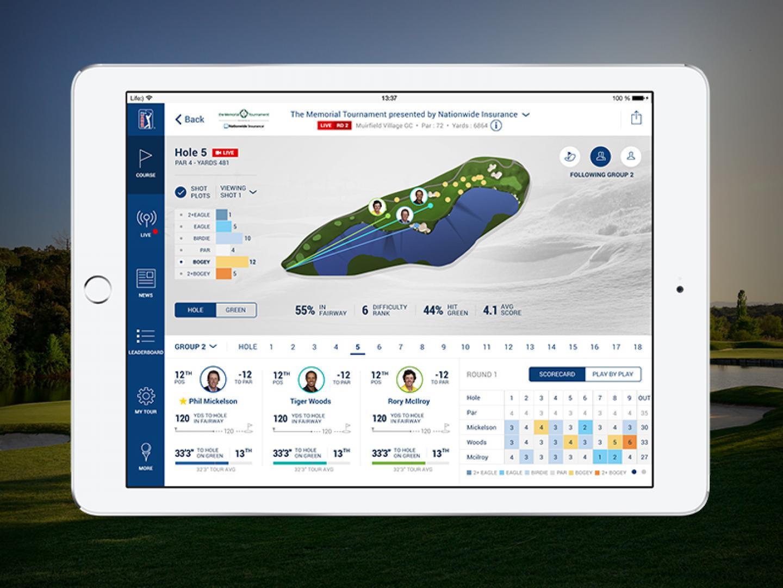 PGA Tour's Official iPad App Thumbnail