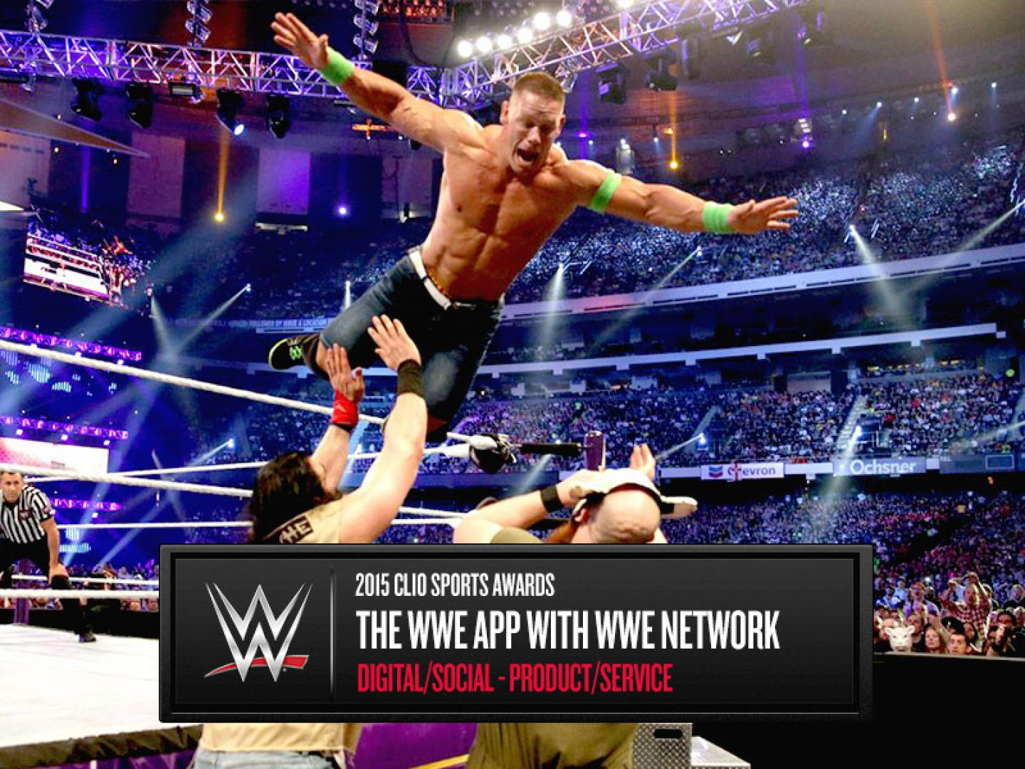 WWE App with WWE Network Thumbnail