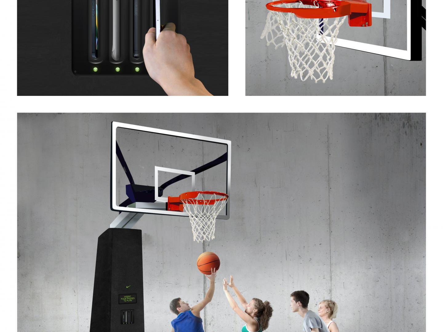 NIKE Digital Basketball Hoops Thumbnail