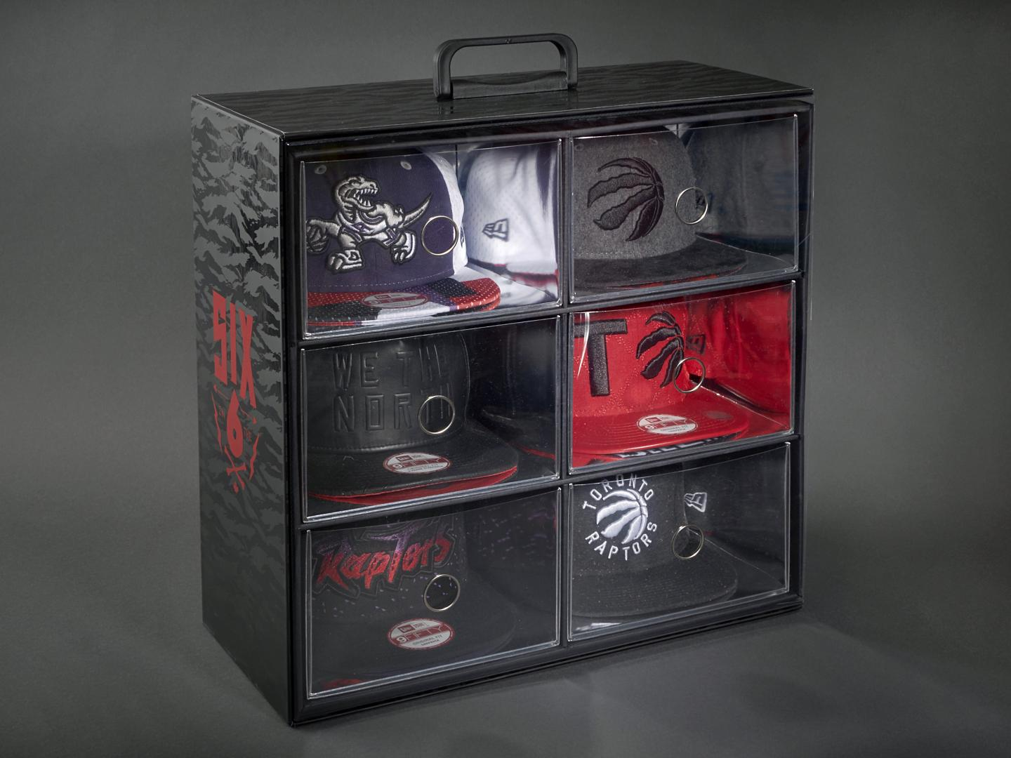 Toronto Raptors New Era Hat Collection Package Thumbnail