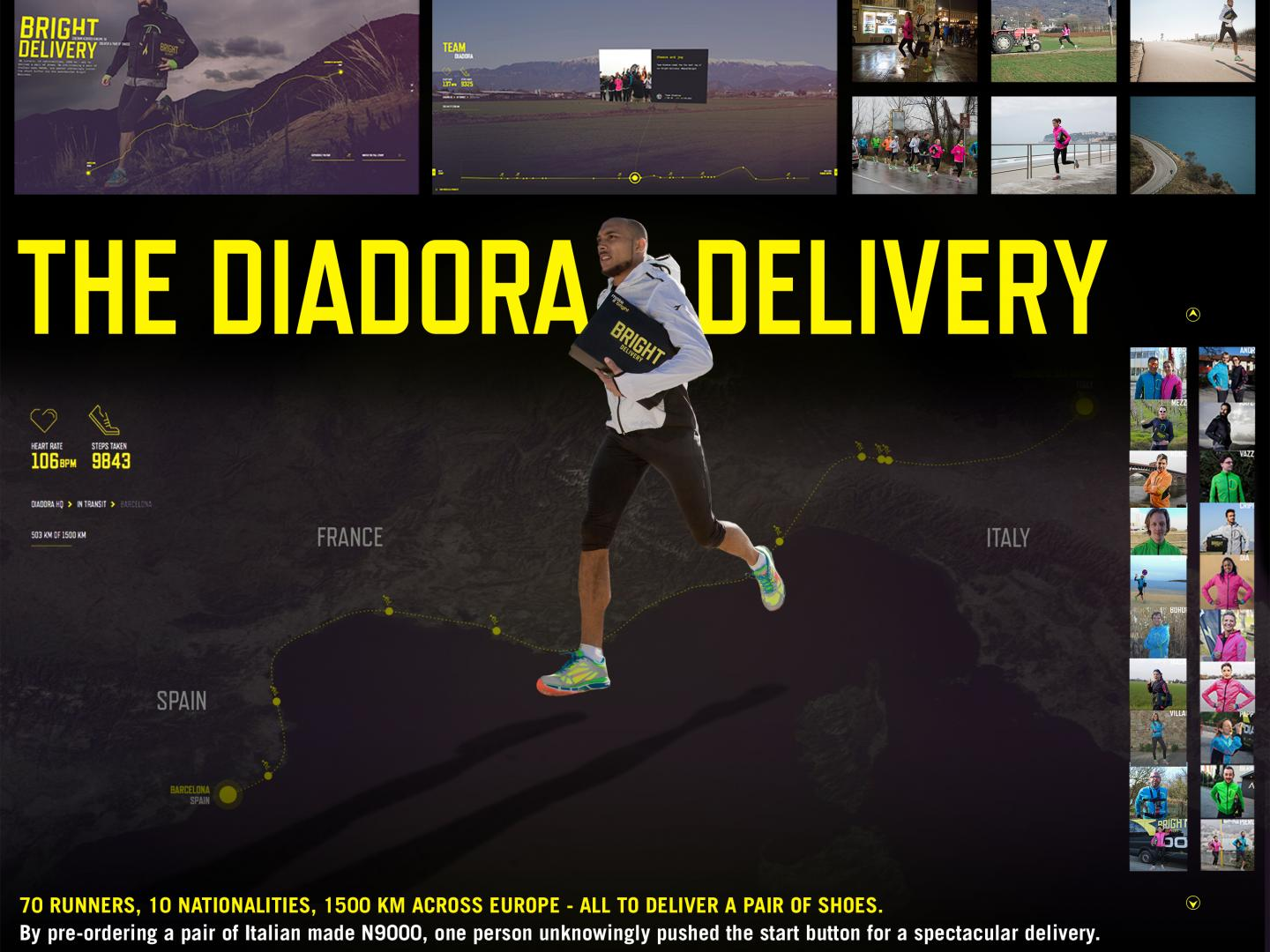 The Diadora Delivery Thumbnail