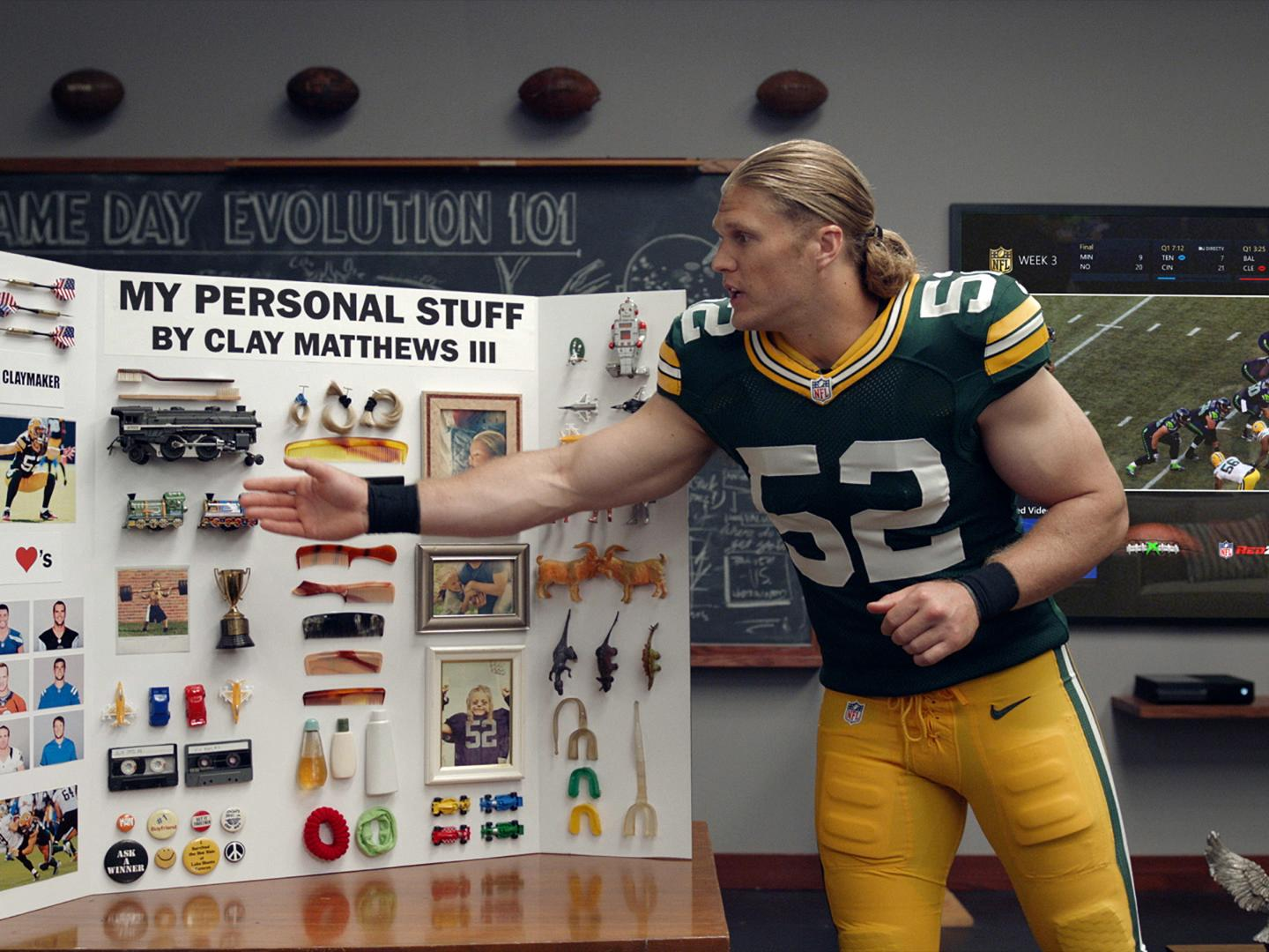 Image for Personalized Content with Clay Matthews III