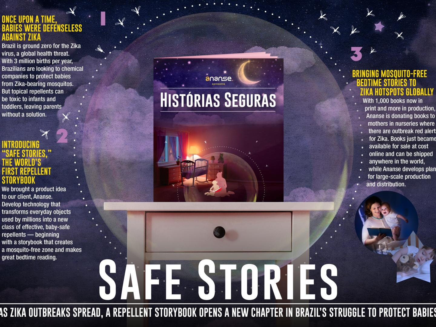 Safe Stories: Turning a Page on Zika Thumbnail