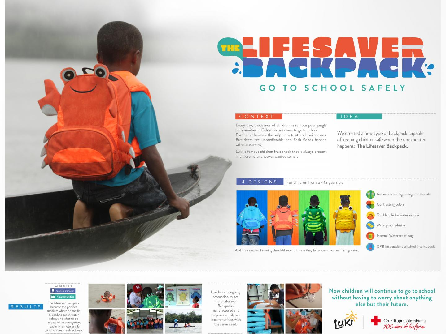 Lifesaver Backpack Thumbnail