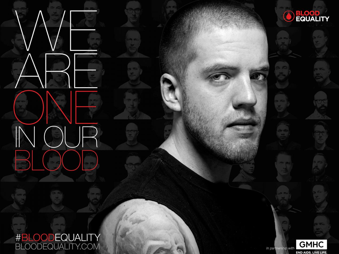 Image for Blood Equality Print D