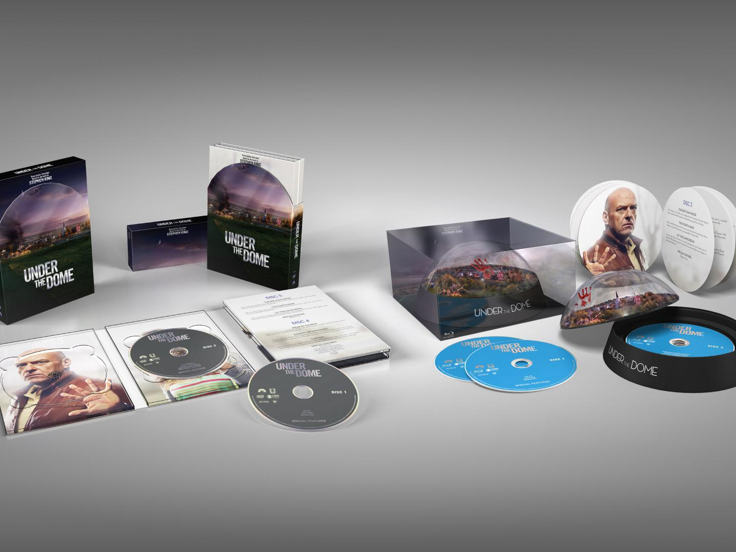 Collector's Edition Box and Amazon Exclusive Blu-ray Dome Edition Thumbnail