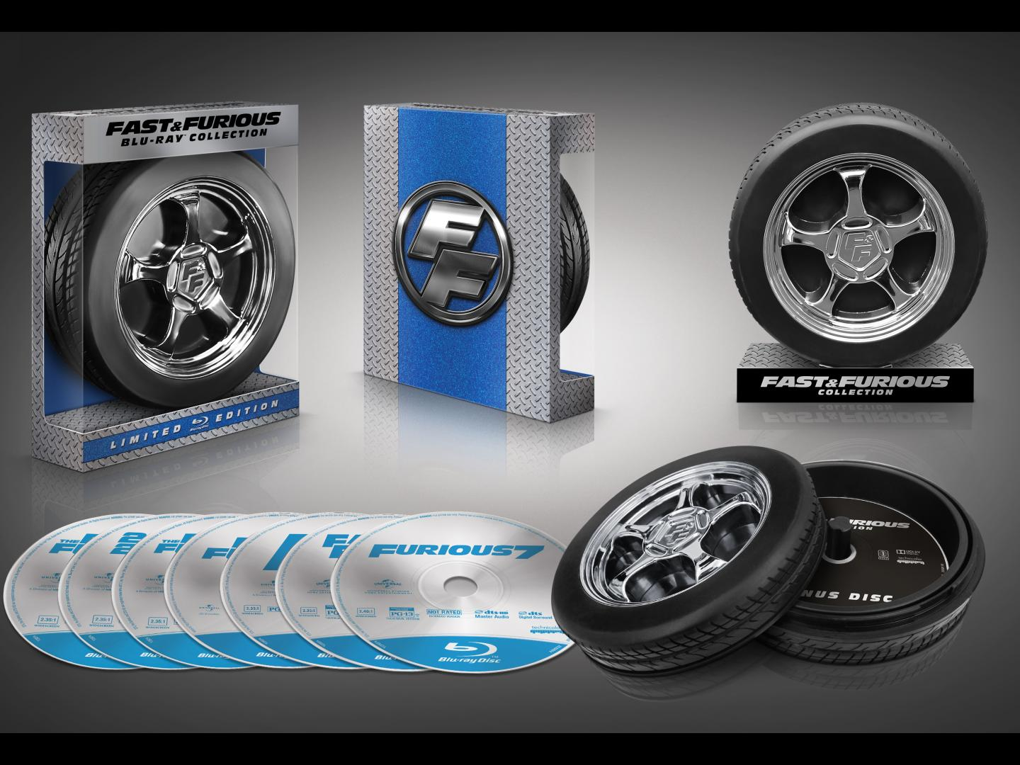 Molded Wheel 7-Movie Collection Thumbnail