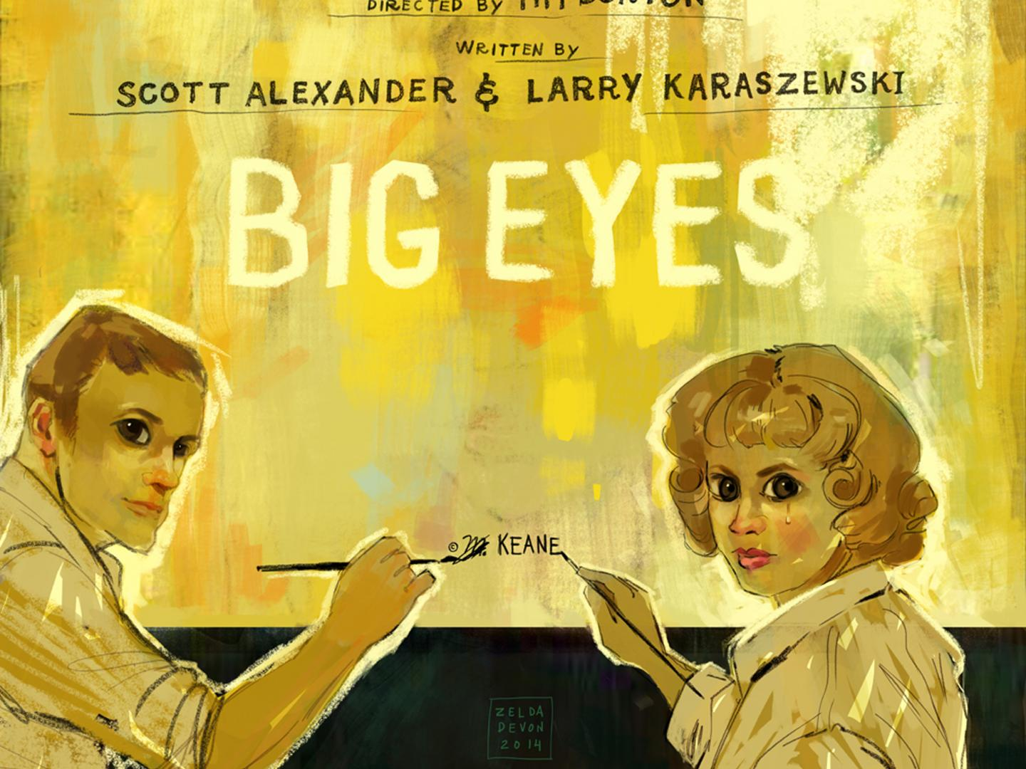 Big Eyes Illustrations Thumbnail
