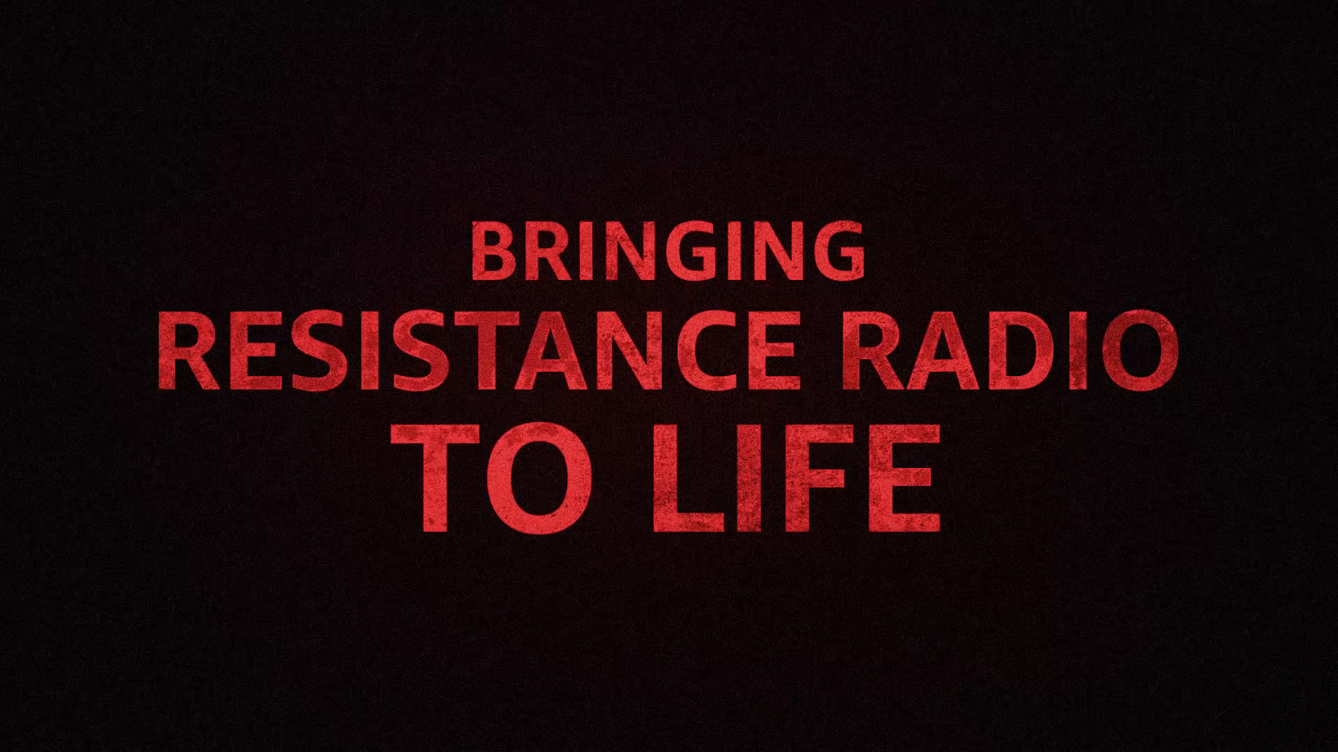 Thumbnail for The Man in the High Castle: Resistance Radio