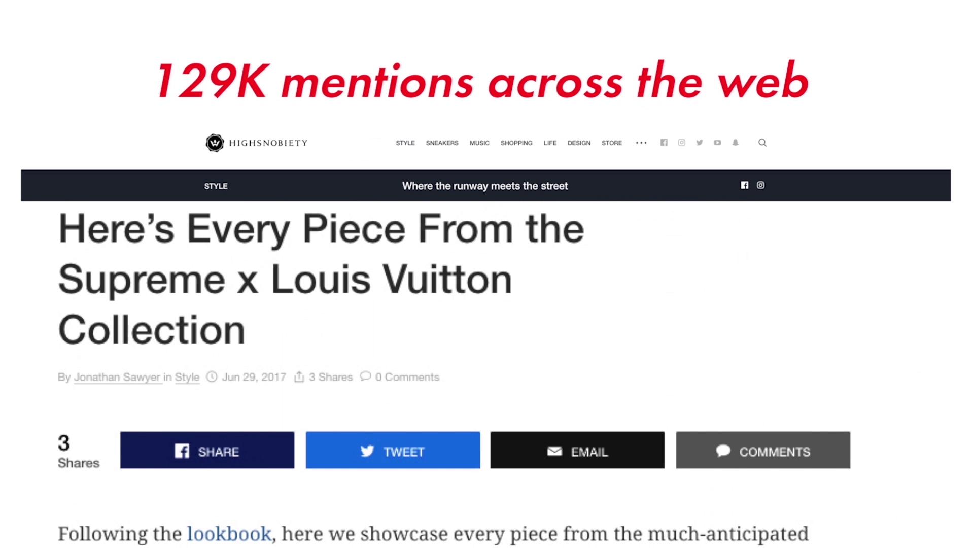 Thumbnail for Louis Vuitton x Supreme