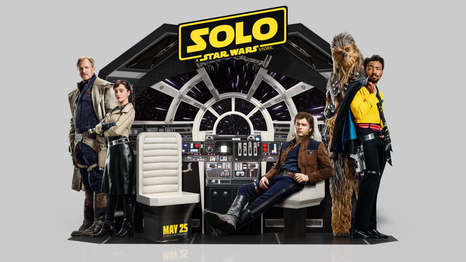 Thumbnail for Solo: A Star Wars Story In-Theatre Standee
