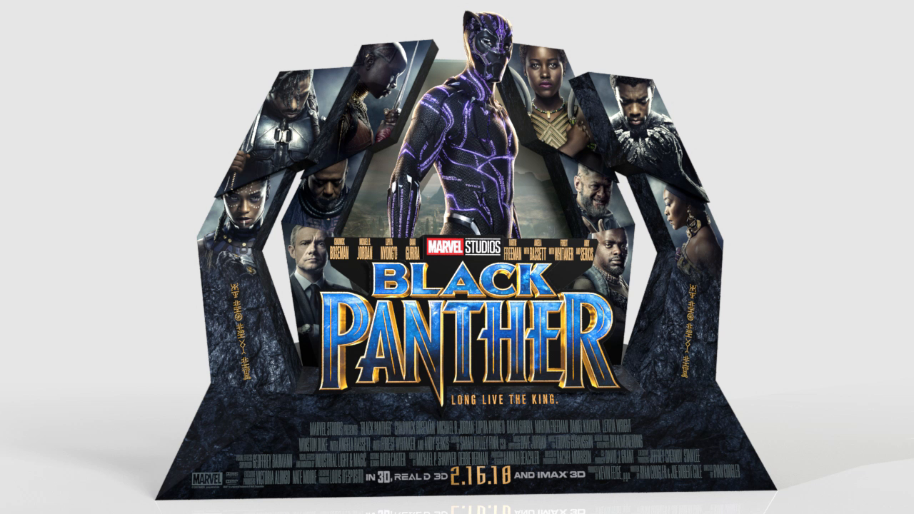 Thumbnail for Black Panther In-Theatre Standee