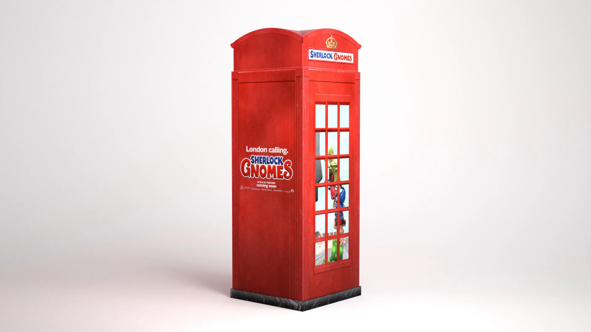 Thumbnail for Sherlock Gnomes International Phone Booth