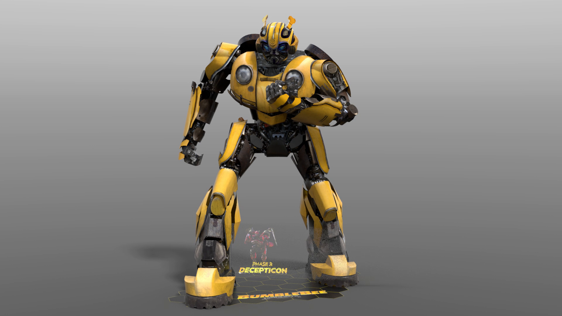 Thumbnail for Bumblebee 3D Character Standee with Custom AV Special Effects