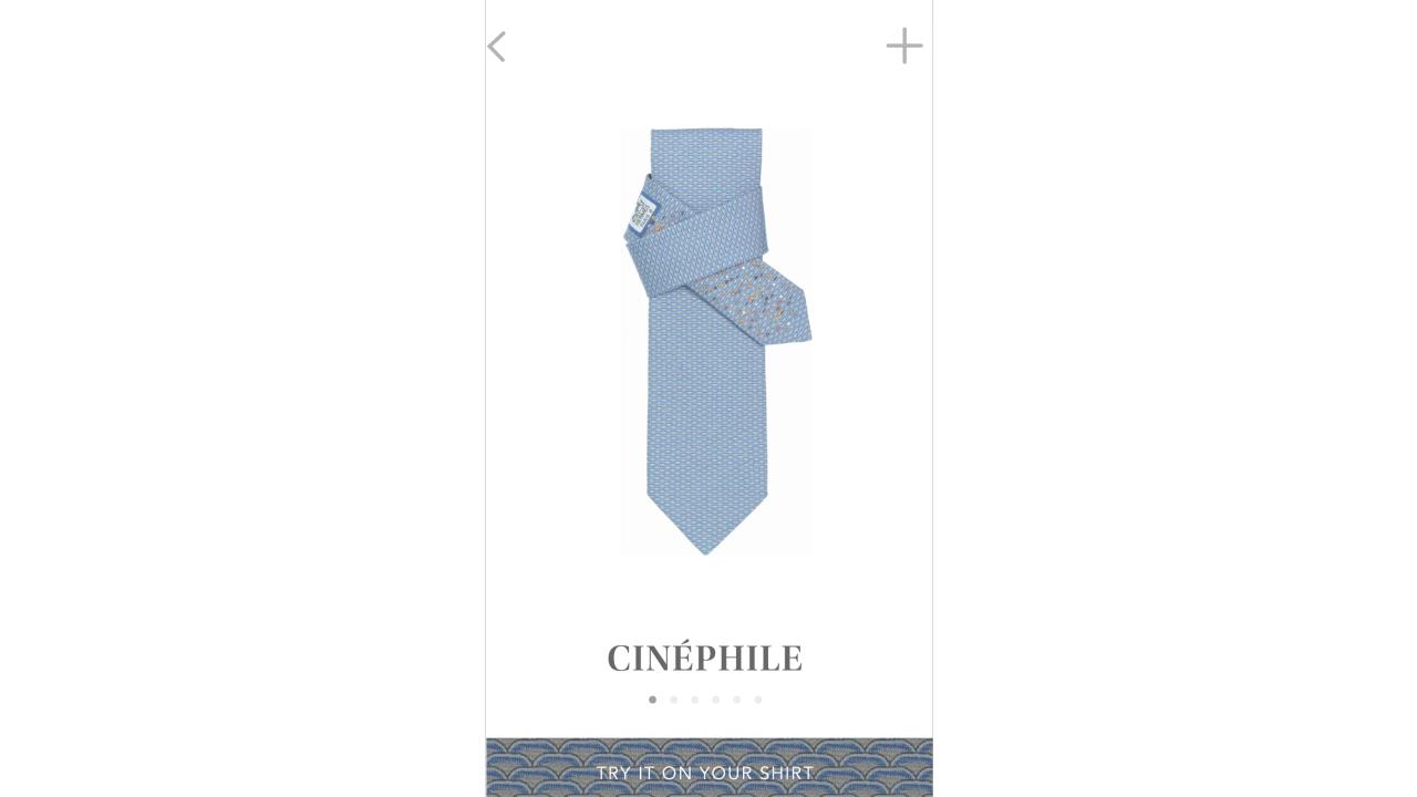 Thumbnail for Tie Break Application - A random dose of Hermès