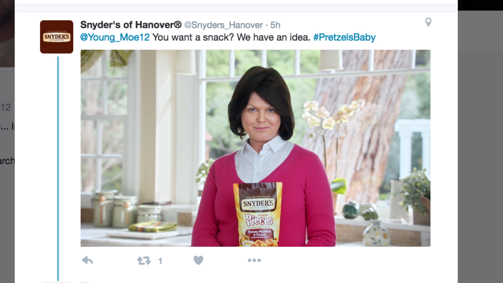 Thumbnail for Snyder's of Hanover: Pretzels, Baby - Integrated Campaign