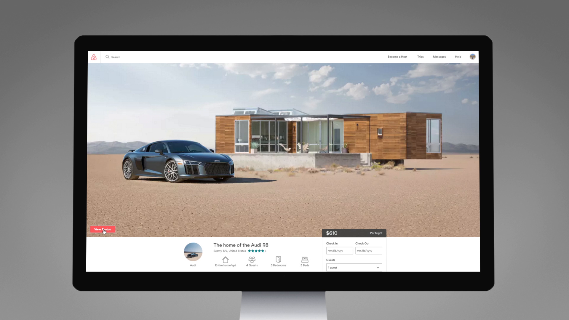 Thumbnail for Audi and Airbnb Live to Drive