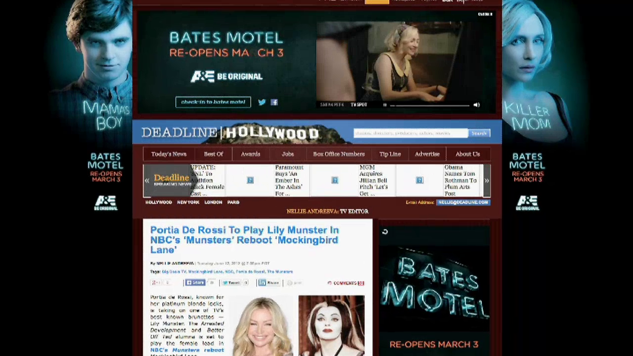 Thumbnail for Bates Motel Season 2 Campaign