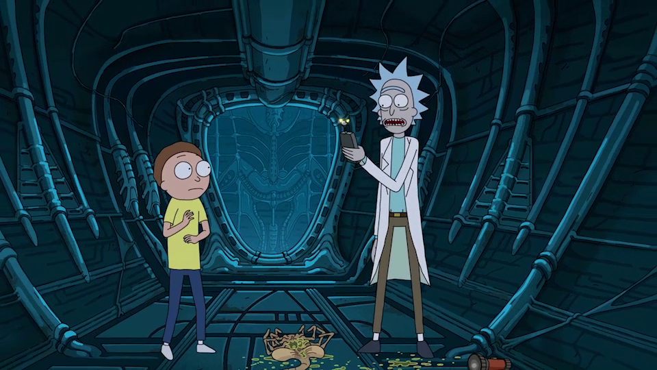 Thumbnail for Rick and Morty/Alien: Covenant Integration
